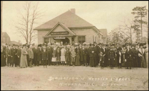 Niagara Webster Library Dedication Jan1912
