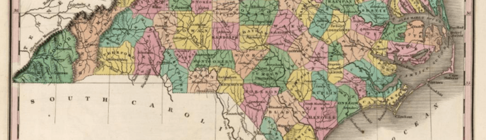 NC cartobibliography: Anthony Finley