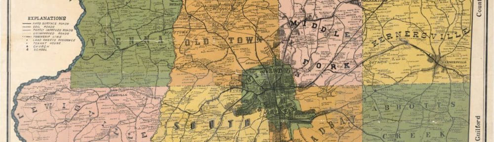 C. M. Miller: North Carolina's preeminent county map maker